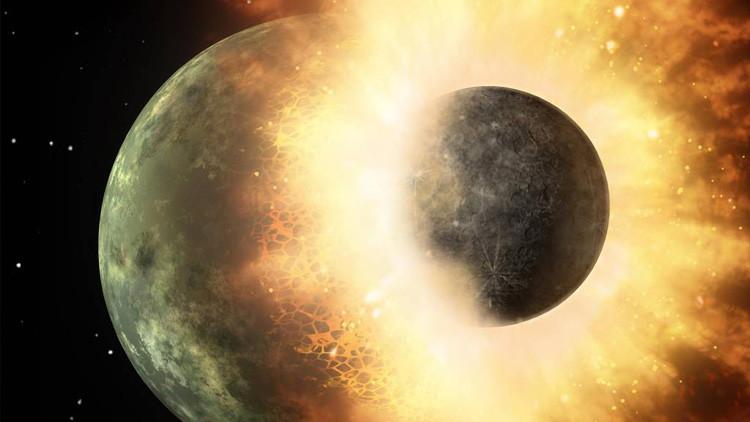 ¿Por qué es tan 'rara' nuestra Luna?