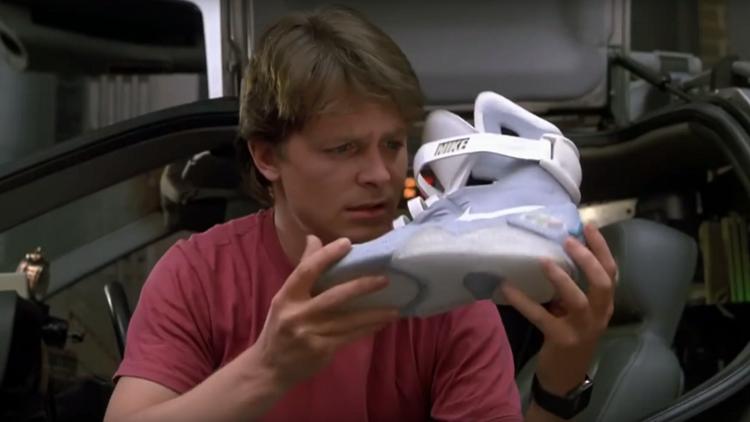¡Robocordones!: Nike pone a la venta unas zapatillas como las de Regreso al Futuro II