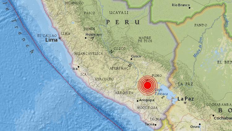 Un sismo de magnitud 6,3 sacude Perú