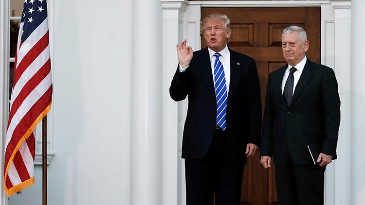 Trump nombra a James 'perro rabioso' Mattis al frente del Pentágono
