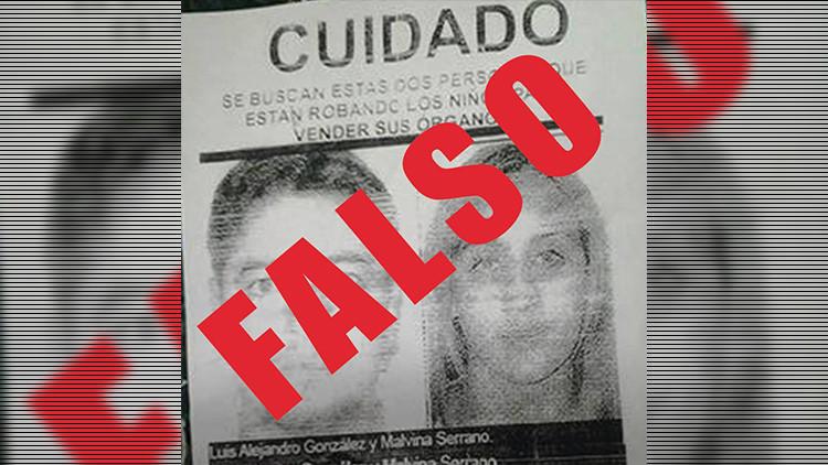 Perú: Noticias falsas difundidas por Facebook sobre traficantes de órganos causan disturbios