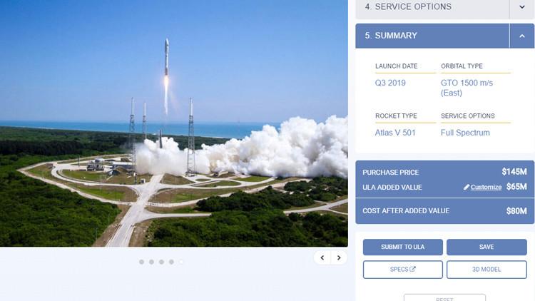 Ya puedes construir y estimar el costo de tu propio cohete espacial