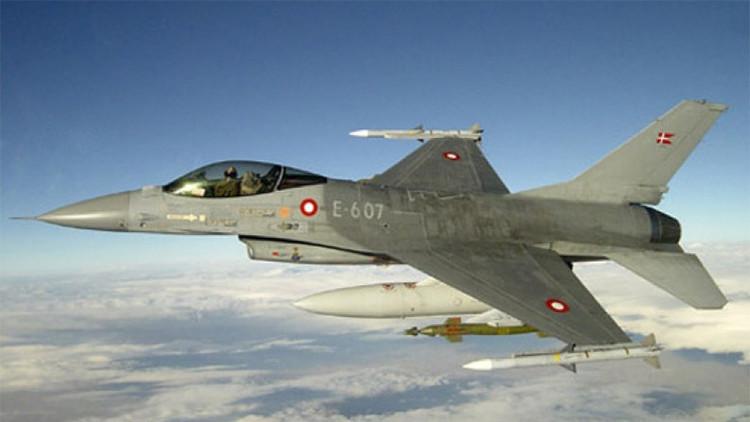 Dinamarca anuncia la retirada de sus siete cazas F-16 de Siria e Irak