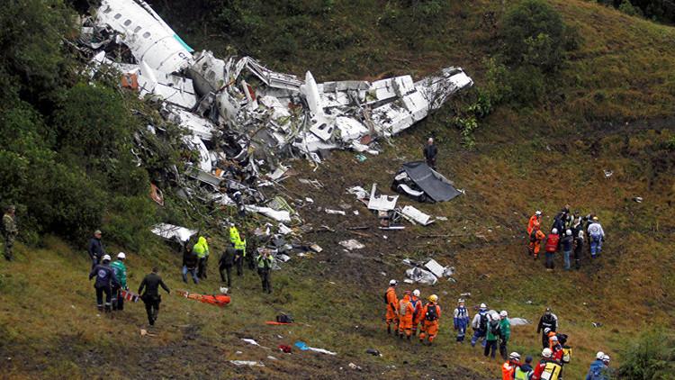 Tragedia del Chapecoense: Controladores aéreos rechazan la filtración del audio del accidente aéreo