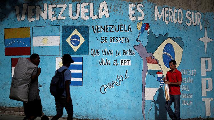 """Venezuela denuncia un """"golpe de Estado"""" en el Mercosur"""