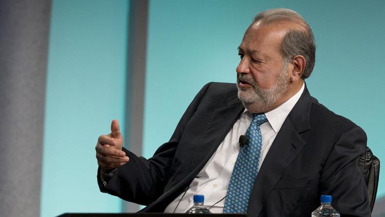 """Carlos Slim: """"Trump puede ser fantástico para México"""""""