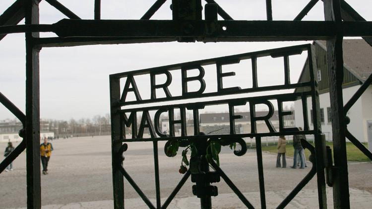 Hallan una puerta robada del campo de concentración nazi de Dachau