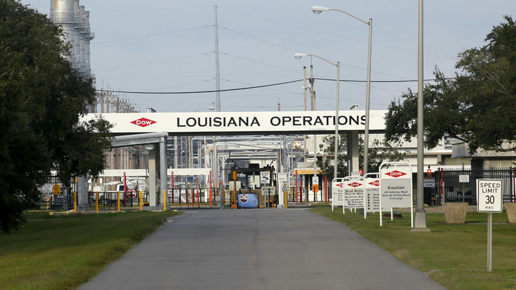 Evacúan una planta química de EE.UU. por una fuga de cloro