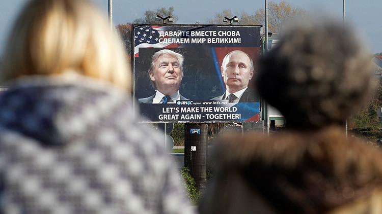 """EE.UU. creará un comité para contrarrestar la """"influencia encubierta"""" de Rusia"""