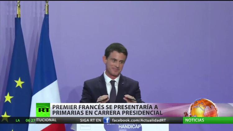 Francia: El primer ministro se presentaría a las primarias por la carrera presidencial