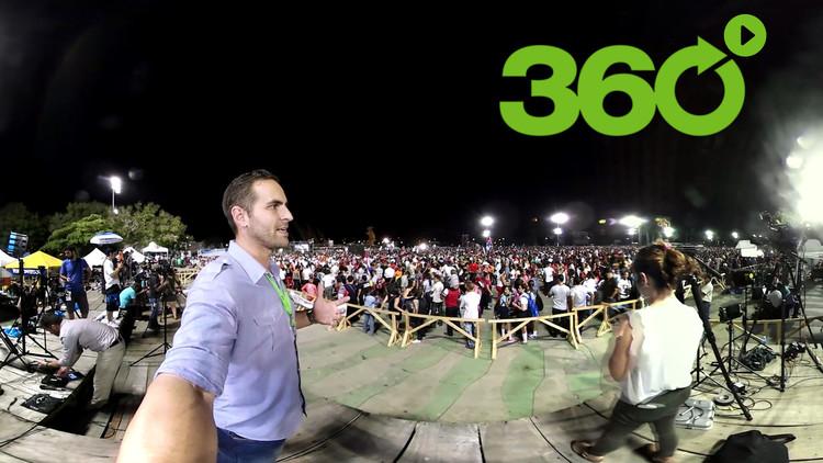 Último adiós al comandante: Video del funeral de Fidel Castro en Santiago de Cuba en 360º