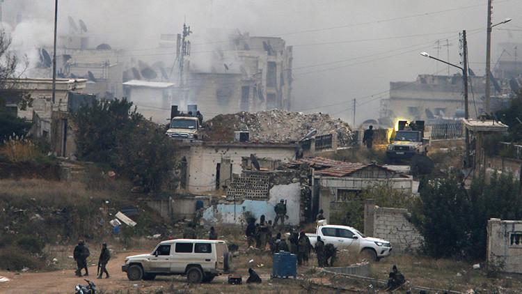 El Ejército de Siria controla dos nuevos distritos de Alepo
