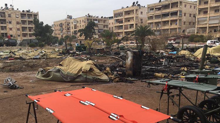 Armas químicas y proyectiles en escuelas: RT acompaña a los zapadores en el este de Alepo
