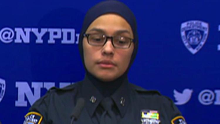 """""""¡Te voy a cortar el cuello, regresa a tu país!"""": amenazan a una policía musulmana en EE.UU."""