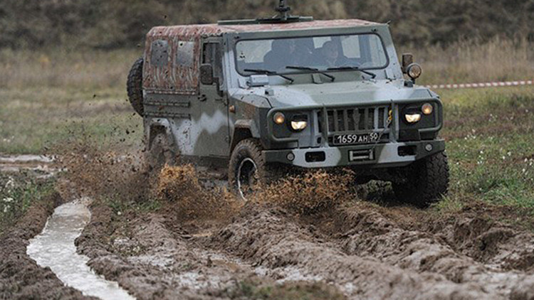 VIDEO: La prueba extrema del nuevo automóvil blindado ruso