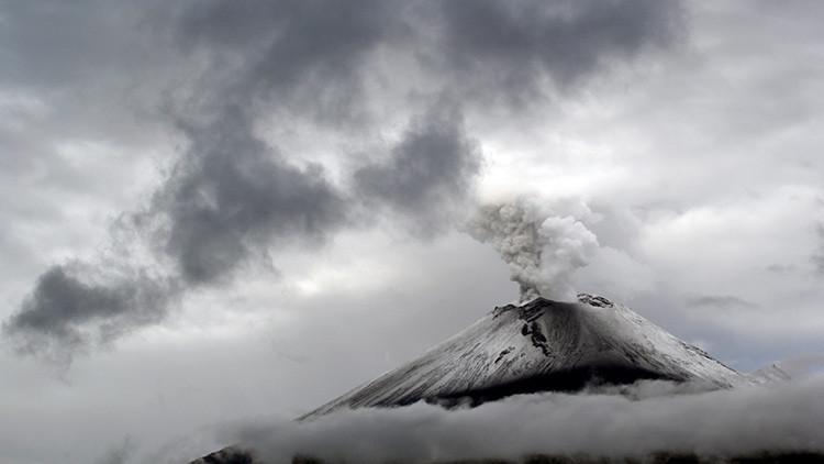 ¿Hay una base alienígena dentro del volcán Popocatépetl? (Video)