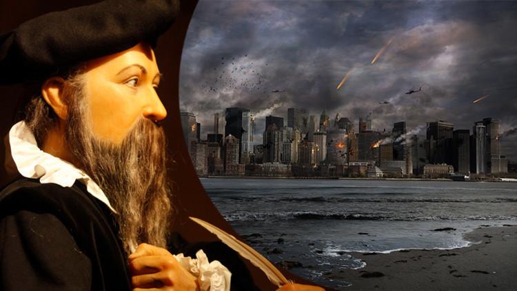 """""""Esclerosis de la superpotencia"""": Las terribles profecías de Nostradamus para el 2017"""