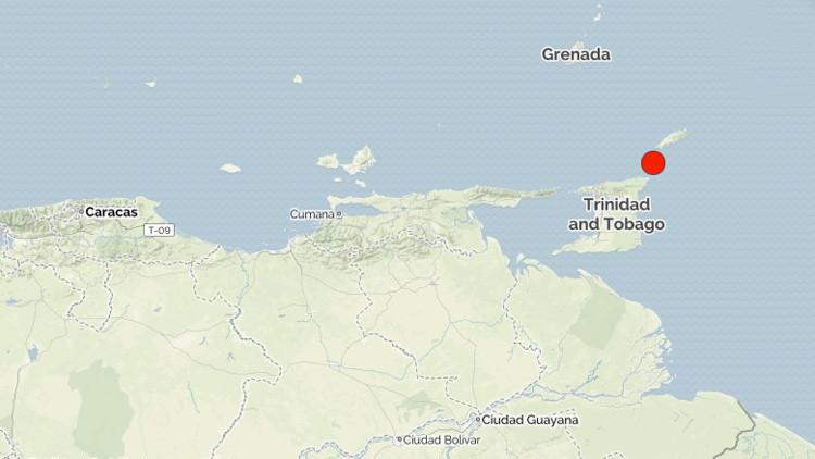 Un sismo de magnitud 5,8 sacude las costas de Trinidad y Tobago
