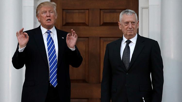 Trump presenta oficialmente a Mattis, alias 'Perro rabioso', como futuro jefe del Pentágono