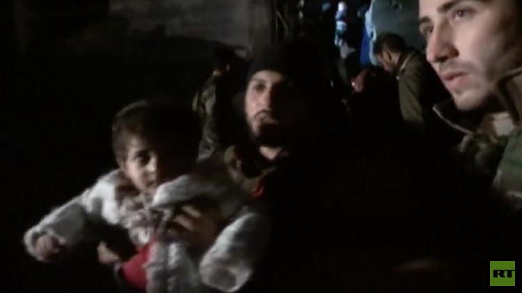 El Ejército sirio libera a la población de una parte del centro histórico de Alepo (VIDEO)