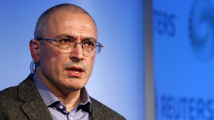 Irlanda descongela 105 millones de dólares del exoligarca ruso Mijaíl Jodorkovski