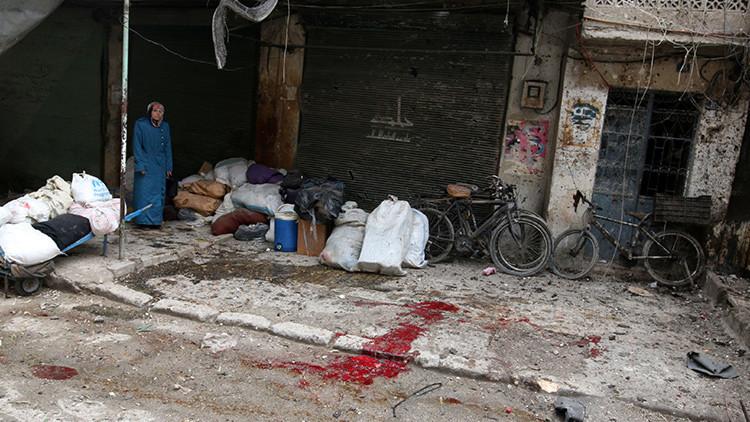 Grupos radicales bombardean Alepo y dejan al menos 12 muertos