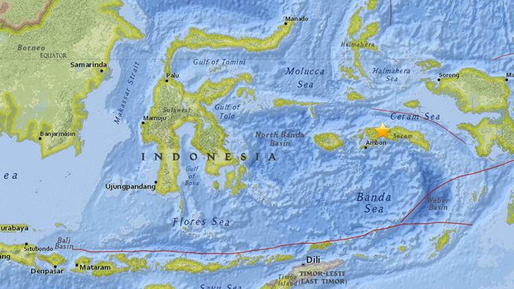 Se registra un nuevo terremoto en Indonesia