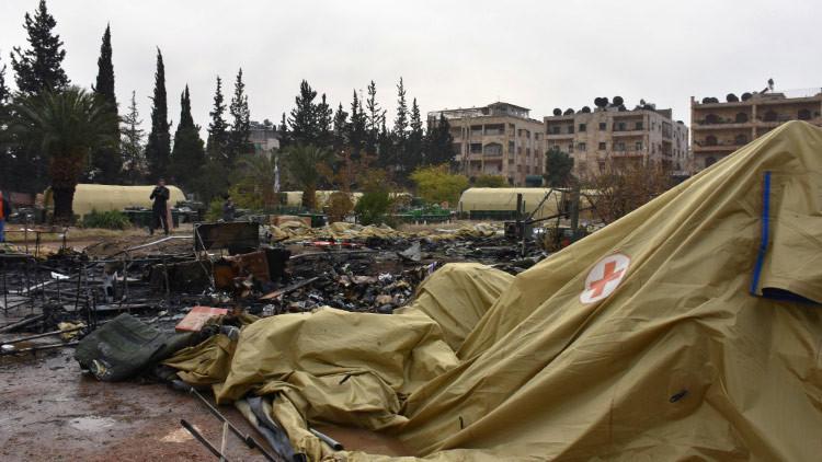 """Moscú: """"La reacción de la OTAN al bombardeo del hospital en Alepo es claramente de doble rasero"""""""