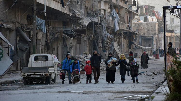 El Ejército sirio retoma el 70 % de Alepo oriental y evacúa a más de 1.200 civiles