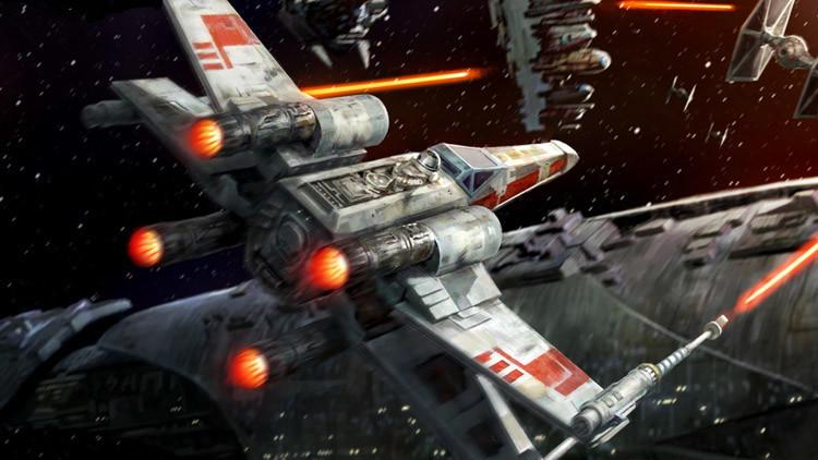 Una nave de 'Star Wars' aterriza en Hollywood para el estreno de la nueva cinta de la saga (VIDEO)