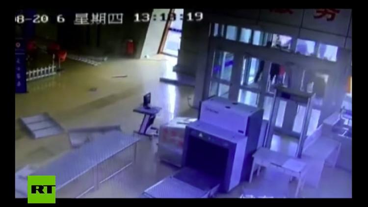 VIDEO: Así fue el sismo de magnitud 5,9 que ha sacudido el noroeste de China