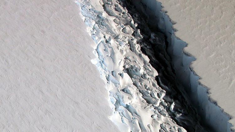 ¿Qué consecuencias puede tener esta grieta de 100 kilómetros en la Antártida?
