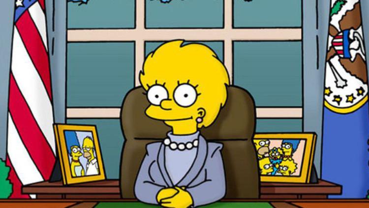 Siete profecías de los Simpson para 2017 en tarjetas