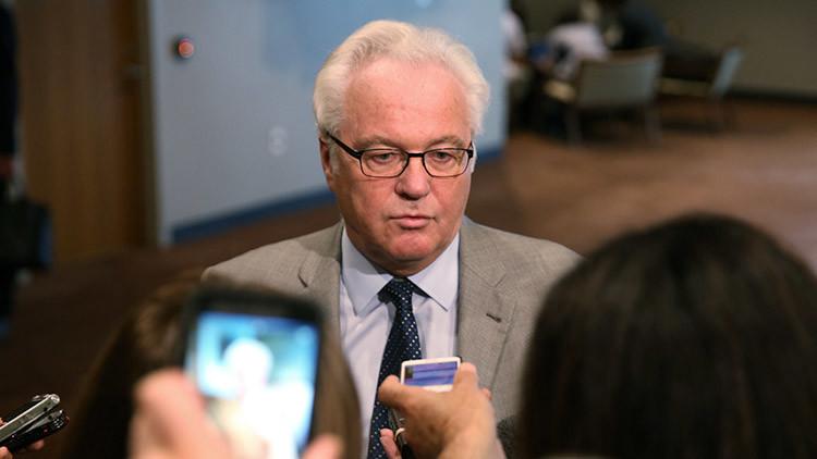 """Churkin: """"Es importante reiniciar las negociaciones sobre Siria antes del 1 de enero"""""""