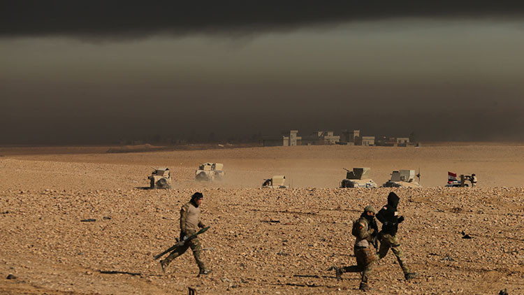 """""""Se abrieron las puertas del infierno"""": Feroz ataque del EI contra los militares en Mosul"""
