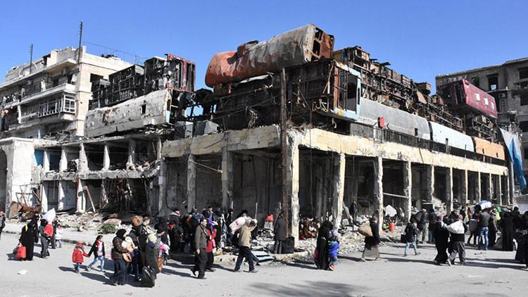 """Rusia sobre la situación que viven los militantes en Alepo: """"Es una agonía"""""""
