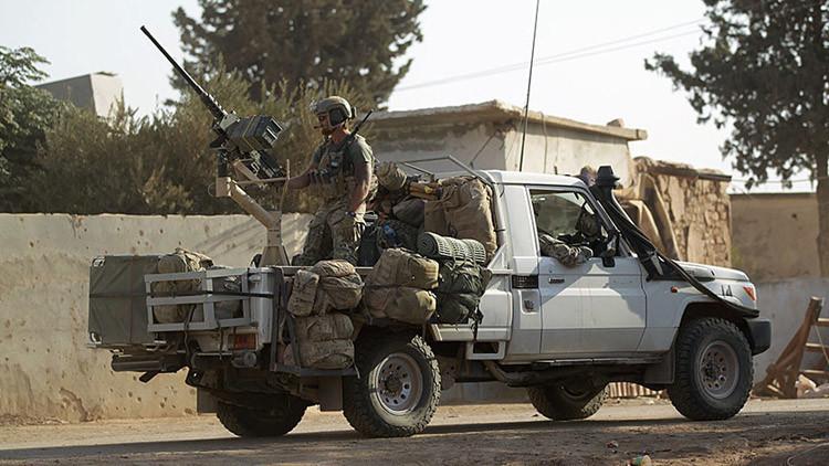 Las Fuerzas Armadas de EE.UU. en Al Kherbeh, Alepo, Siria, el 24 de octubre de 2016.
