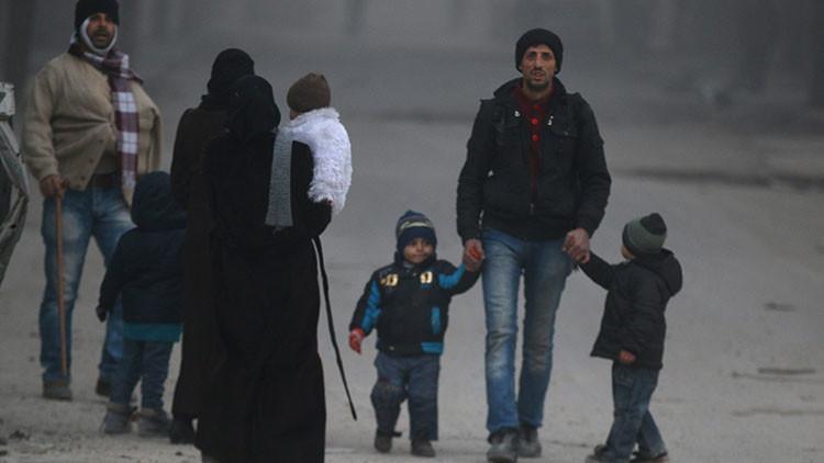 Rusia: 50.000 civiles son evacuados del este de Alepo en los últimos dos días