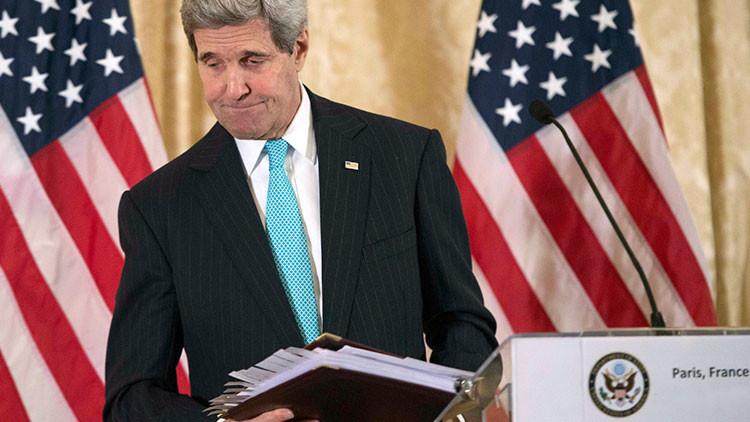 """Kerry a la oposición armada siria: """"Den el primer paso para lograr la paz"""""""
