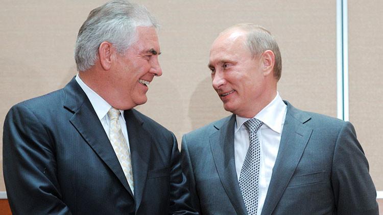 ¿Quién es el posible secretario de Estado de EE.UU. y qué lazos tiene con Rusia?