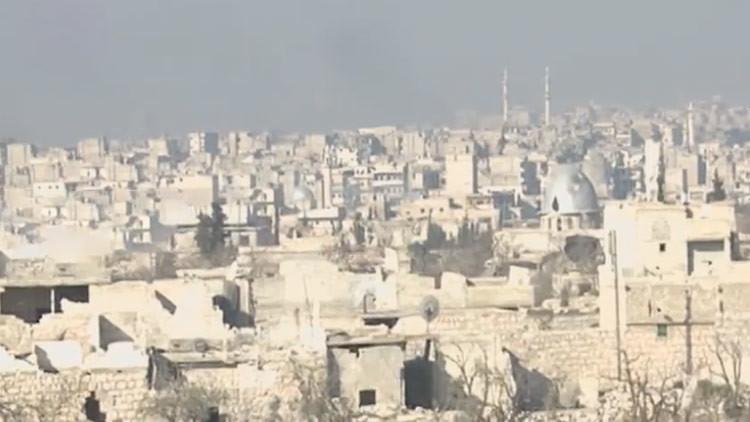 VIDEO: El Ejército sirio libera otro distrito en el sudeste de Alepo