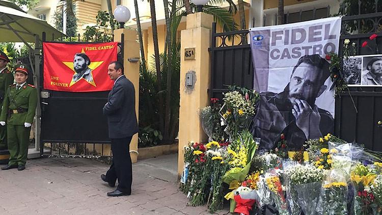 """Por qué Fidel Castro """"vivirá para siempre"""" en los pueblos de Asia"""