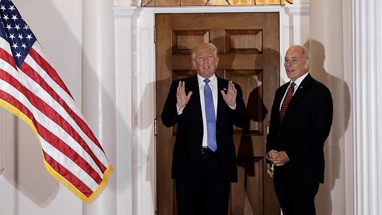 Trump nomina al general John Kelly para el cargo de Secretario de Seguridad Nacional de EE.UU.