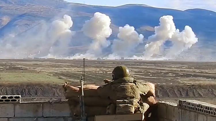 Mejor que en un videojuego: Así actúan las fuerzas especiales rusas en Siria