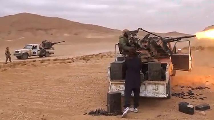 El Estado Islámico asalta el aeródromo militar cerca de Palmira