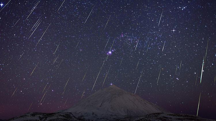'Batalla' en el cielo: La superluna eclipsará a la lluvia de meteoros de las Gemínidas
