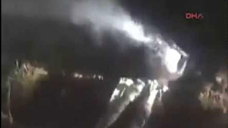VIDEO: Un caza F-16 se estrella en el sureste de Turquía