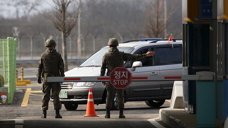 Una fuerte explosión en una base militar de Corea del Sur deja 23 heridos