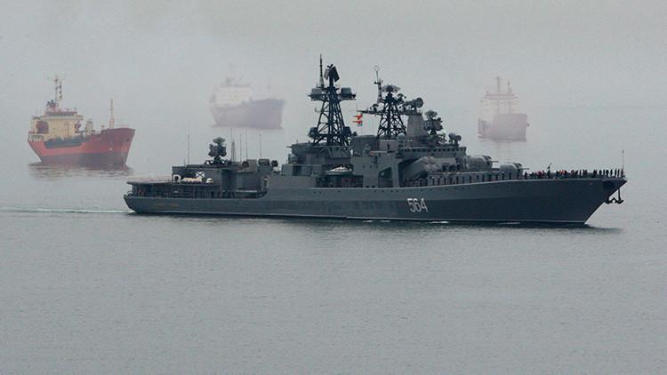 Las Armadas de India y Rusia comienzan las maniobras conjuntas 'Indra Navy 2016'