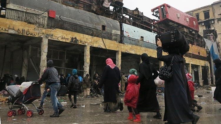 """ONU: """"Milicianos impedían la salida de civiles del este de Alepo"""""""